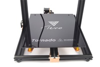 TEVO Tornado 3D Printer Hot bed Silicon Heated Bed 300*300mm 110V/220V with Black Glass build surface 3D Printer Parts