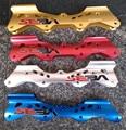 Красные, синие, серебристые, золотистые, черные, 243 мм, 231 мм, плоского типа, встроенные рамы для коньков, база для ролики SEBA HV, 8 болтов для ката...