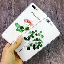 Flower Phone Cases iPhone 5s 5 SE 6 6s Plus 7 8 X