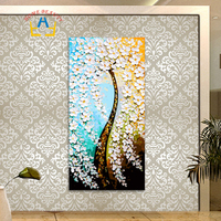 40 80cm Large Pictures By Number Modular Wall Canvas Painting For Living Room Coloring By Numbers