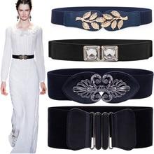 Fashion Design Sretchable Women Elastic Belt