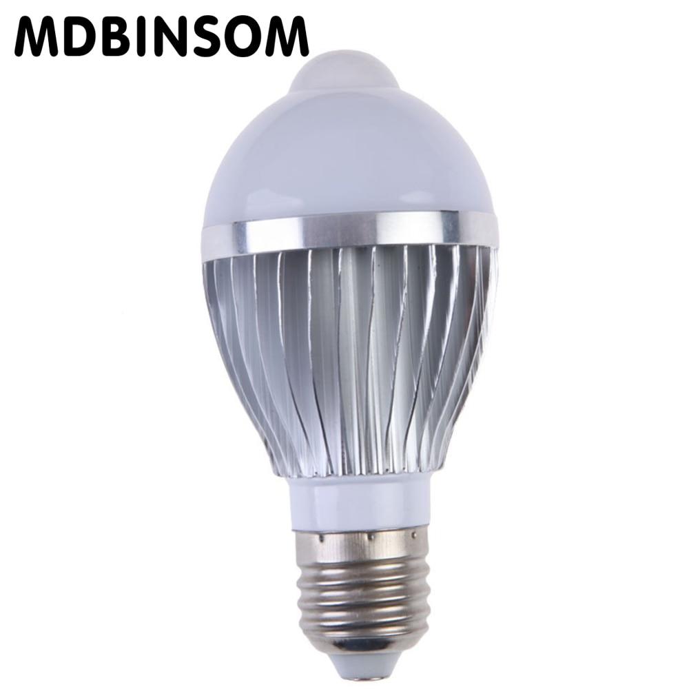 SMD 5730 PIR Led Bulb Motion Sensor E27 5W 7W Lamp LED Bulb Spotlight Smart Led Lamp AC110V 240V Lampada for Home Lighting Bulbs