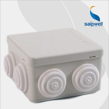 85*85*50mm  CE Approved 7 Holes Waterproof ABS Plastic Enclosure/Junction Box  (SP-P1-858550)
