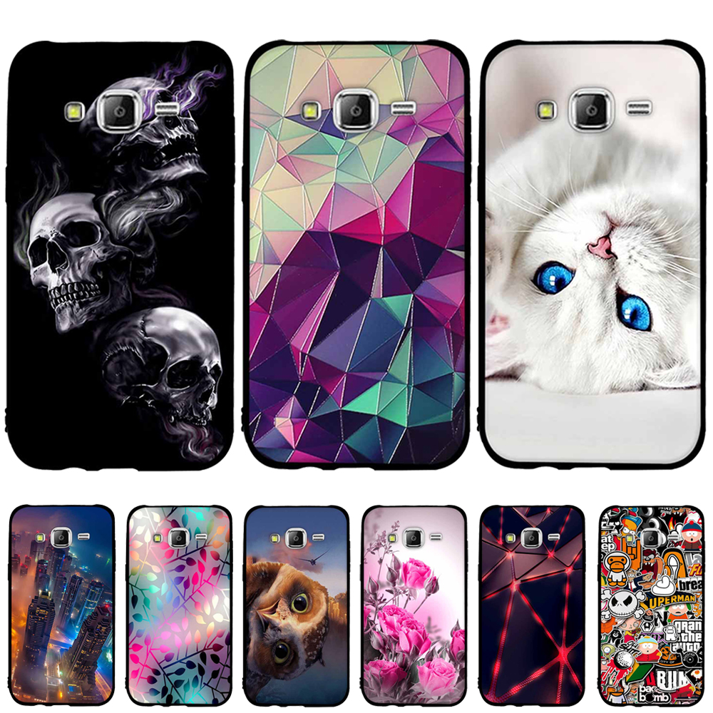 Galleria fotografica For Samsung Galaxy J5 2015 Case Cover TPU Silicone Cover For Samsung J5 2015 Phone Case fundas For Samsung Galaxy J5 J500f Coque