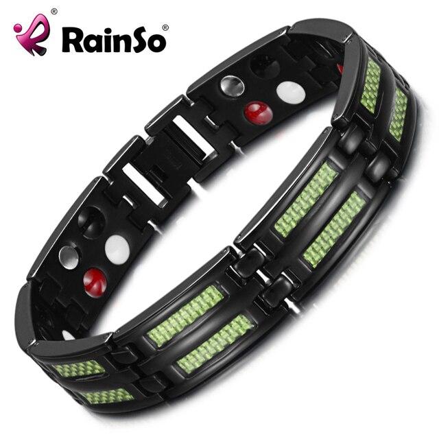HTB13quFCpGWBuNjy0Fbq6z4sXXaw - Titanium Bracelets 4 Health Elements Germanium Magnetic Bracelets for Arthritis