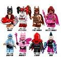 8 unids lote Batman Película Mini Vengadores Marvel Figuras de Bloques de Construcción de Juguete para Niños Kids Compatible con Legoe