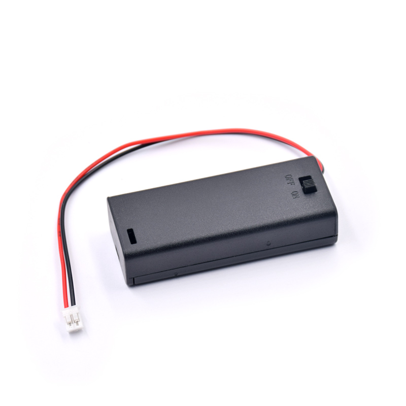 Free Shipping Switched Battery Power Box For BBC Micro:Bit 2 X AAA