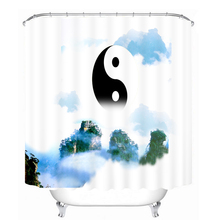Bathroom Products Printed Polyester Bath Curtain Shower Curtain the Great ultimate