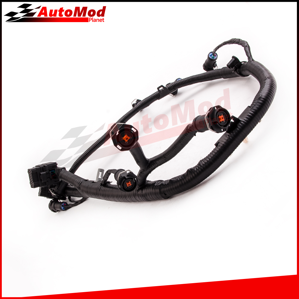 fuel injector harness for ford 6 0l powerstroke diesel f550 f350 5c3z9d930a fuel injector jumper wiring harness [ 1000 x 1000 Pixel ]