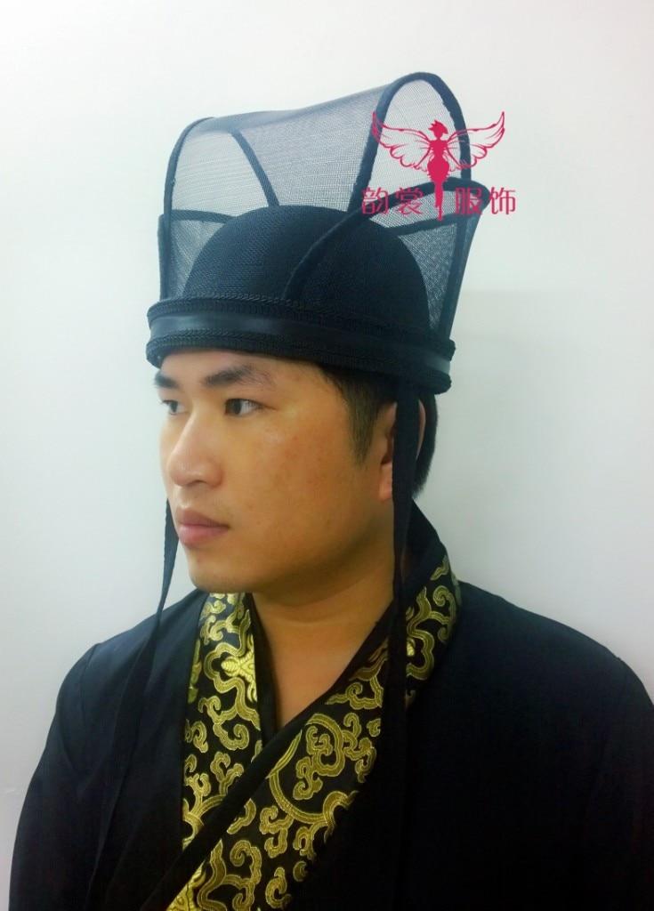 Handsome Costume Male Hat Crown Piece Hanfu Head Piece