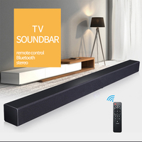 DHL JYAUDIO A1 TV Soundbar Wood Wireless Bluetooth Speaker Sound Bar Surround Stereo Home Theatre System
