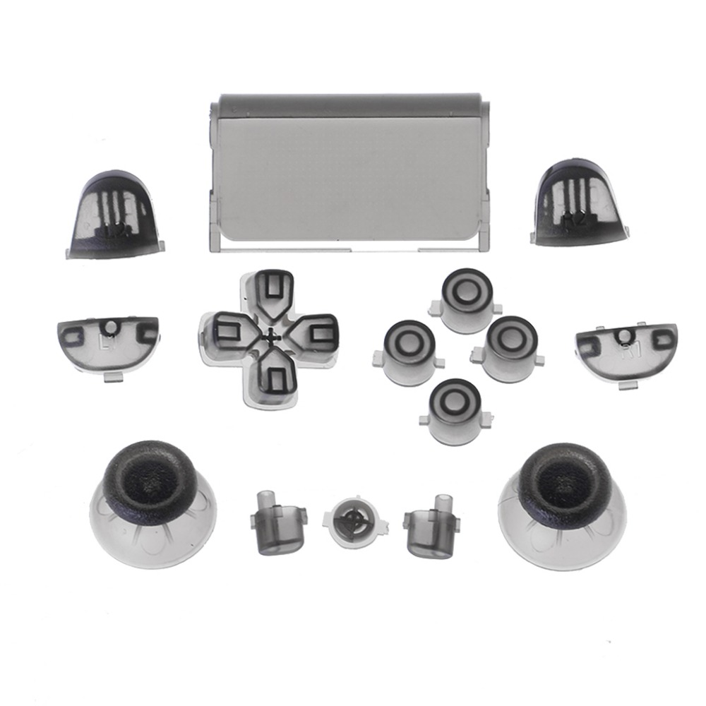 Full Buttons Mod Kit For Sony PlayStation 4 PS4 Controller R2 L2 R1 L1 Trigger Video Game Accessories