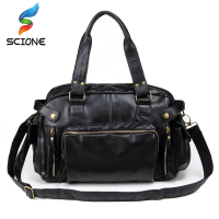 2017 high quality leather sports bag men handbags gym cowhide men gym bag men s travel.jpg 200x200