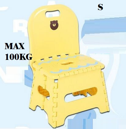 free shipping Thickening folding stool chair S plastic portable domestic chair outdoor creative wooden bench adult children