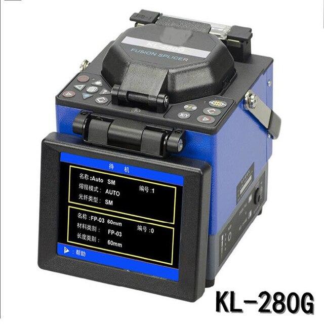 Волоконно-оптические fusion машина KL-280G/цзилун сварочный аппарат/новый волоконно-оптический сварочный аппарат/ftth