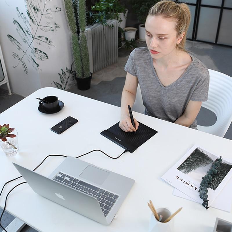Brand New GAOMON S56K Black Graphic Pen Tablet Diseño flexible - Periféricos de la computadora - foto 2