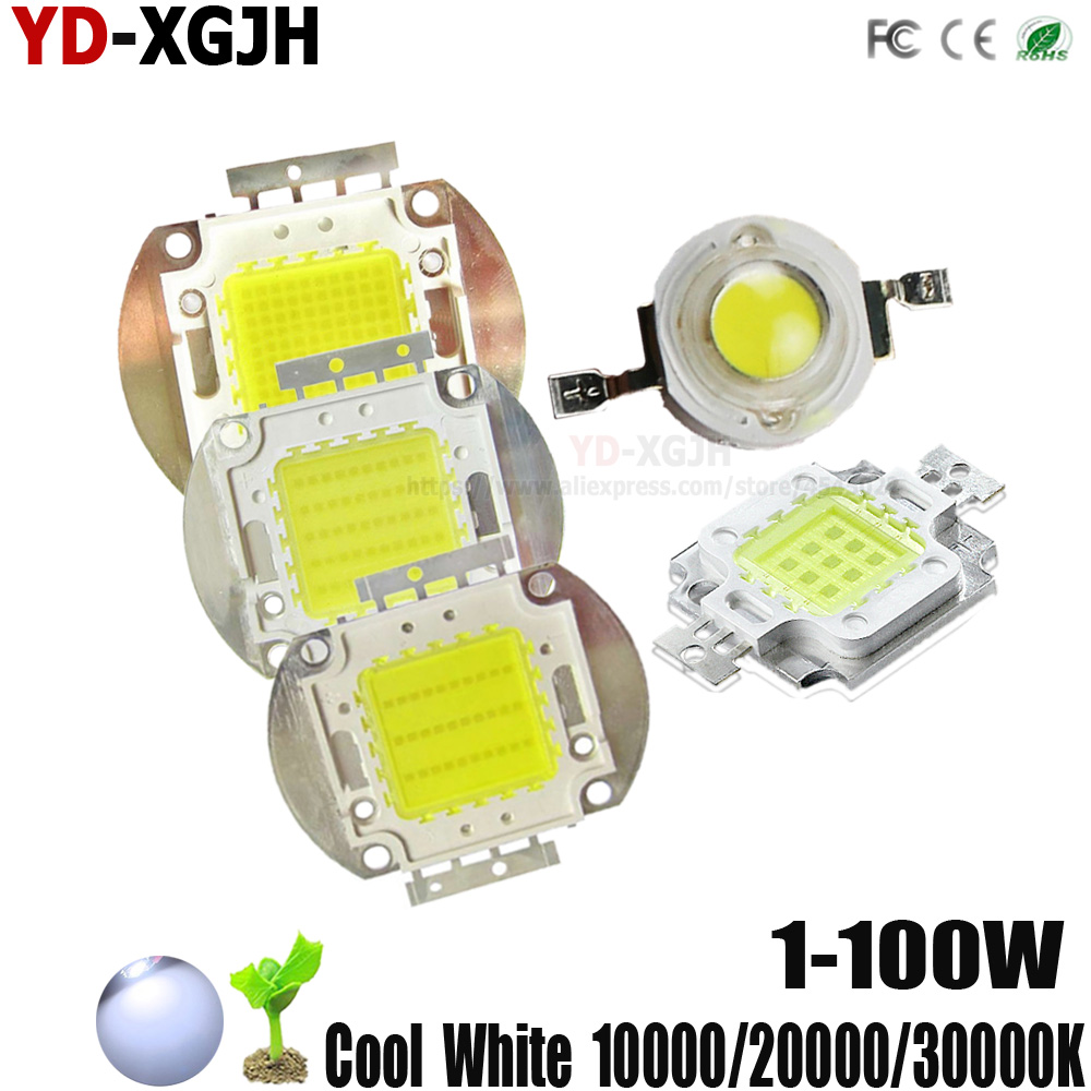 50PCS 3W Led Chip High Power LED Beads 200LM warm white GOOD QUALITY