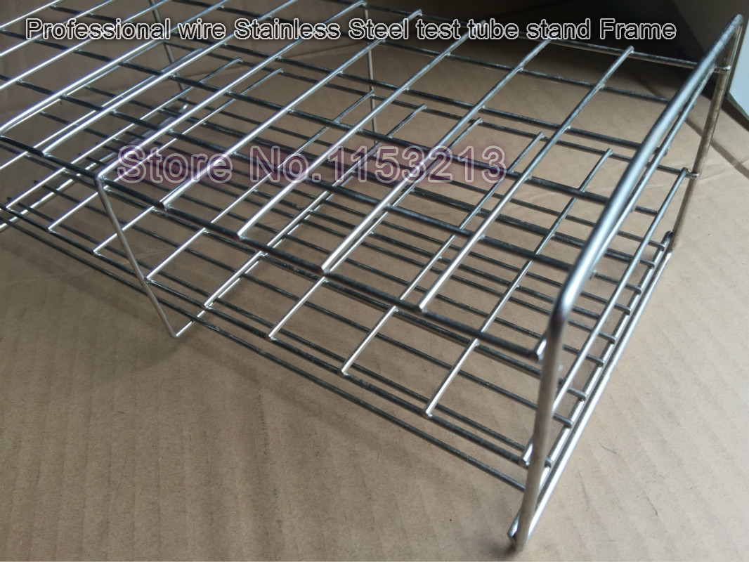 21mm*100-holes Professional Test Tube Rack Wire Stainless Steel test tube stand frame Suitable for tube 20mm/21mm/21.5mm/22mm21mm*100-holes Professional Test Tube Rack Wire Stainless Steel test tube stand frame Suitable for tube 20mm/21mm/21.5mm/22mm