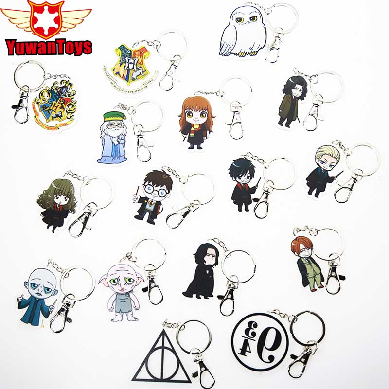Toy Keyring Keychain Action-Figure-Toys Dumbledore Hermione Granger Harri Potter Gifts
