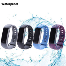 0.86» OLED M2 Smart Band Bracelet Heart Rate Calling SMS Remind Bluetooth V4.0 IP67 Waterproof Smart Breacelet for iOS Android