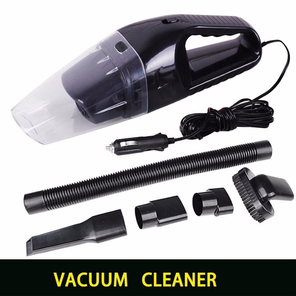 super absorb car waste Portable car vacuum cleaner wet and dry dual use with power 120W