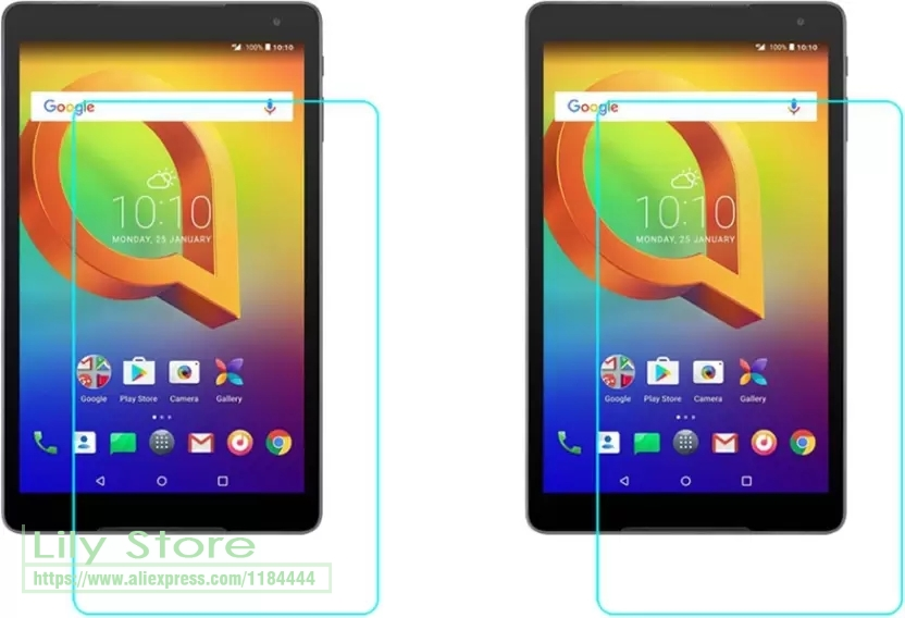 """5 Pack Clear Tablet Screen Protector Guard For Alcatel A3 10 10.1/"""""""