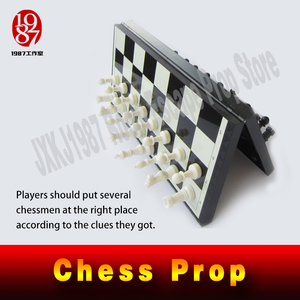 Image 2 - real life escape room Takagism game props chess prop magic prop for escape mysterious room from JXKJ1987 room escape chess prop