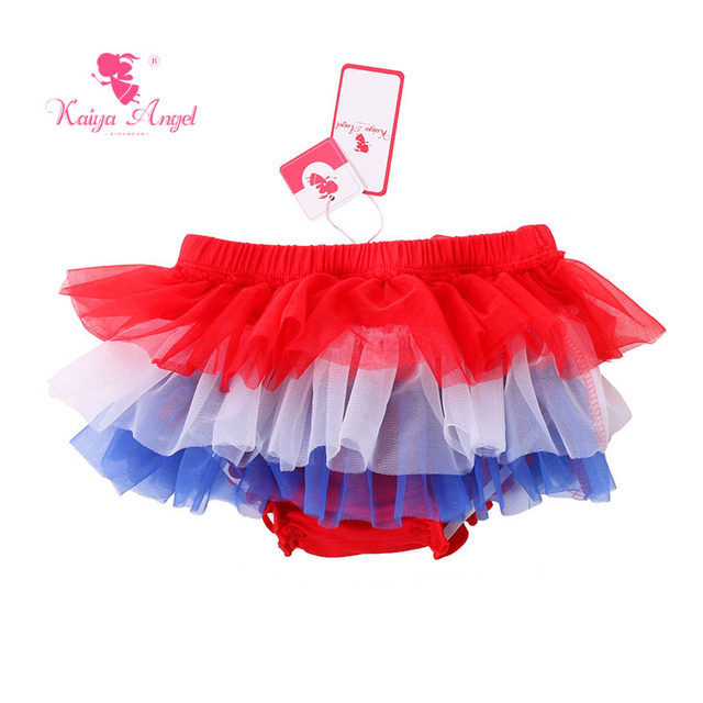 a056b4597f37 Aliexpress.com   Buy Kaiya Angel 4th Of July Baby Bloomer Tulle ...