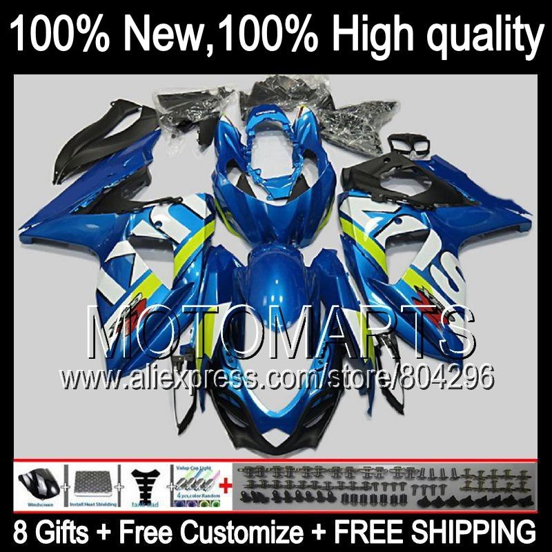 Bodys  Gloss blue For SUZUKI GSXR1000 09 10 11 12 13 GSXR-1000 90JK20 GSX R1000 K9 GSXR 1000 2009 2010 2011 2012 2013 Fairing
