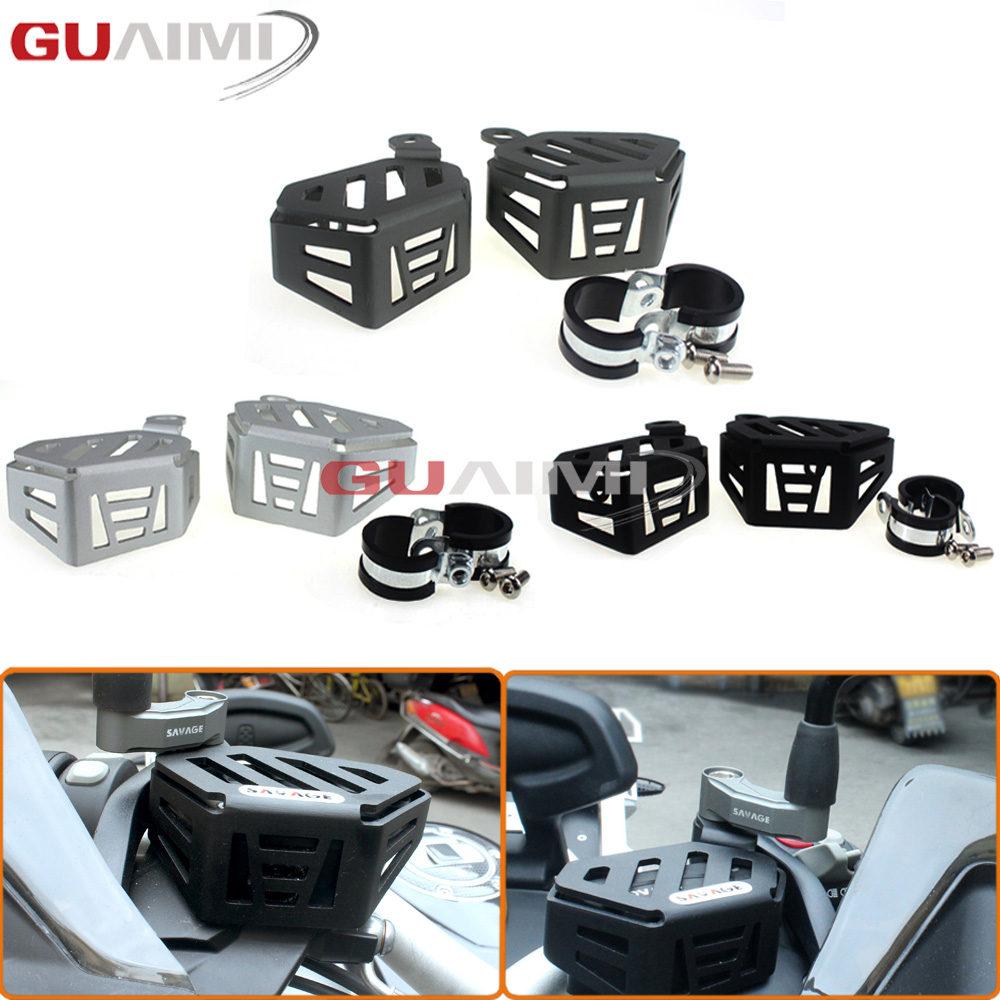 Motorcycle Refit Accessories Adventure Front brake Clutch Oil Cup Protection For R1200GS LC/ADV 2014-2017 / R NINET 2014-2016 universal motorcycle brake fluid reservoir clutch tank oil fluid cup for mt 09 grips yamaha fz1 kawasaki z1000 honda steed bone