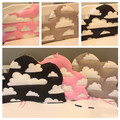Кровать Вокруг Протектор Детская кровать защиты головы 1 шт. кроватки постельных принадлежностей облака форма спинки дизайн моющиеся для детских детей