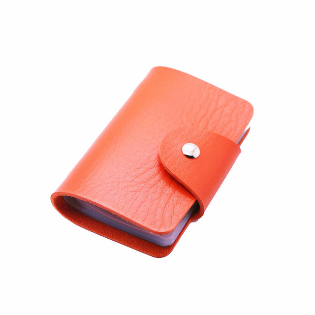 24 Card Slots Double Sided Card Holder