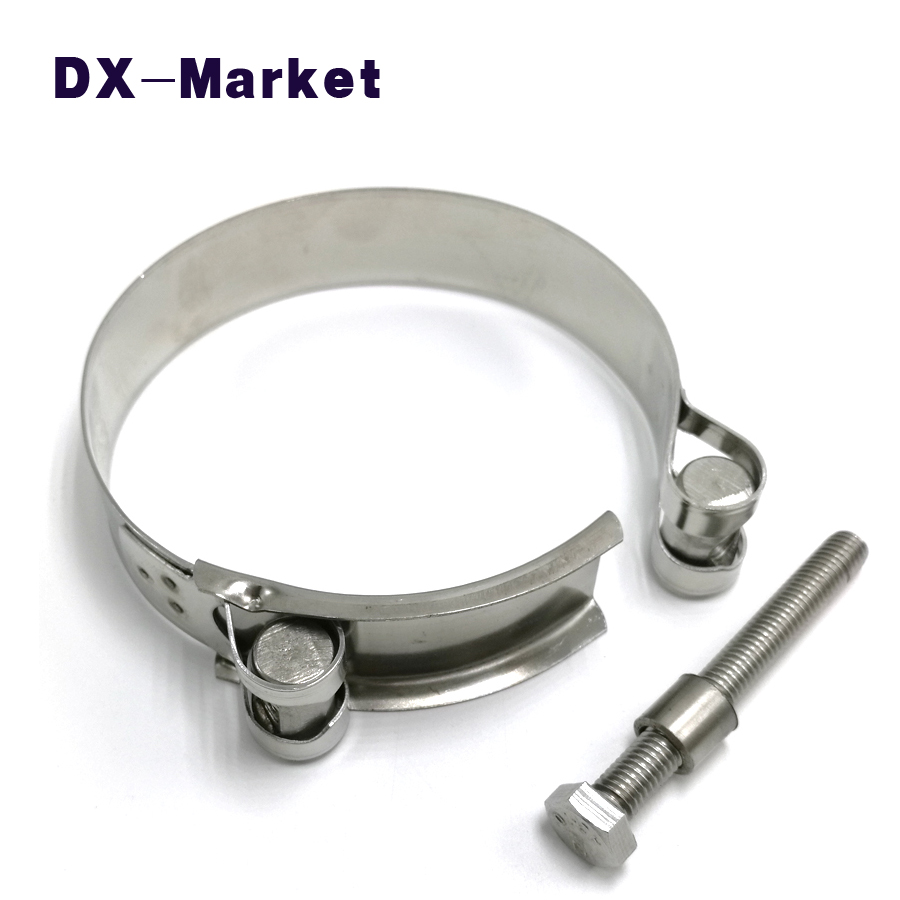 80mm-148mm, 304 stainless steel heavy duty clamps , sus304 cable clamp wire clip , PPR tube clamp 35mm 110mm 304 stainless steel saddle clamp antirust cable clip water pipe fixing bracket clamp