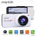 100% Original Anytek AT66A Coche Dvr Grabador de Novatek 96650 AR0330 2.7 pulgadas TFT Full HD 1080 P 170 Grados de Amplio cámara de Vídeo Del Coche