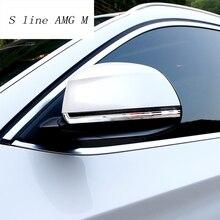Стайлинга автомобилей Нержавеющаясталь Зеркало заднего вида отделкой наклейки для BMW X3 F25 X4 F26 X5 F15 X6 F16 внешний изменение авто аксессуары