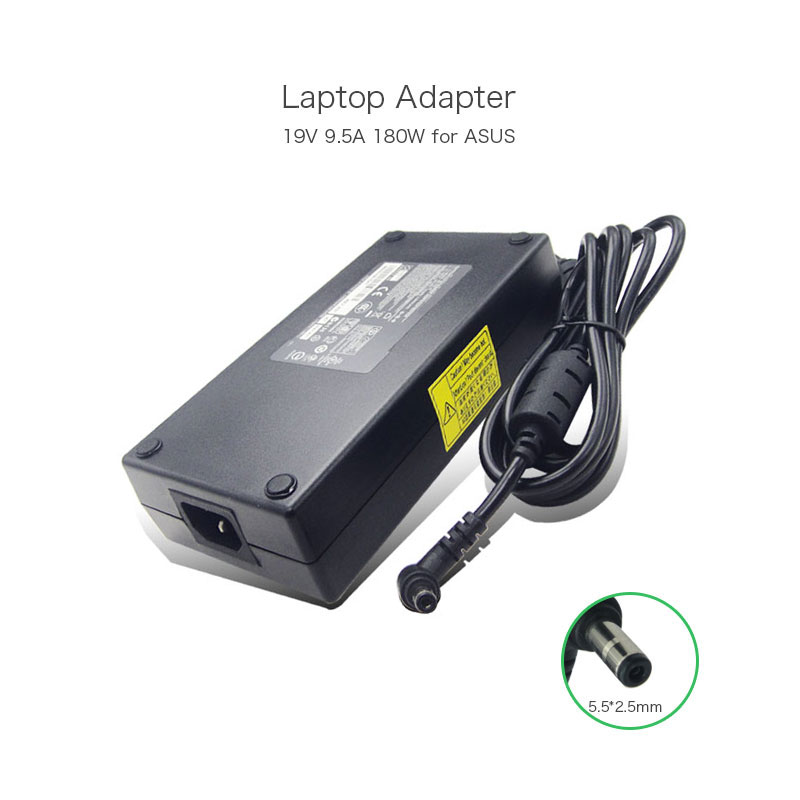 ФОТО 19V 9.5A 180W 5.5*2.5mm Laptop Power Supply for Asus G46VW G55VW G75VW G75VX PA-1181-02 ADP-180HB D ADP-180EB D AC/DC Adapter
