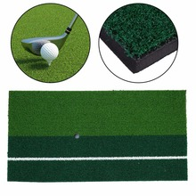 Backyard Golf Mat 12″x24″cm Training Hitting Pad Practice Rubber Tee Holder Grass Indoor Putting Practice Equipment