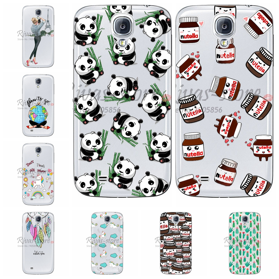 Young Fashion Soft Cover Cases For Samsung Galaxy S4 Mini i9190 Soft Silicone TPU Back Cover For Samsung S4 S 4 Mini Phone Cases