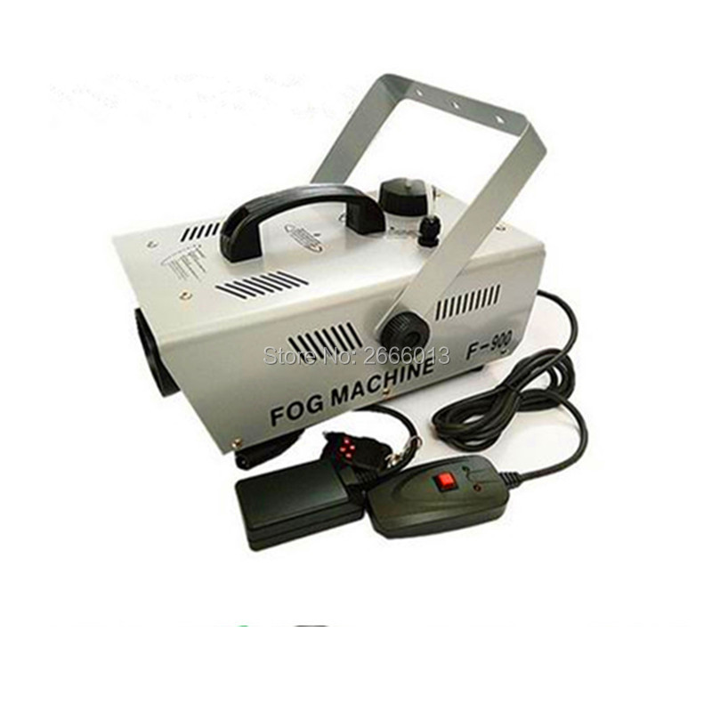 900W Fog Machine /high quality wire control and remote control 900w Smoke Machine with Fast shipping обогреватель triangle 900w