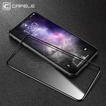 CAFELE 4D Curved Edge Screen Protector For iPhone XS Max X Xr Full Cover Tempered Glass For iPhone XS XR Protective Glass