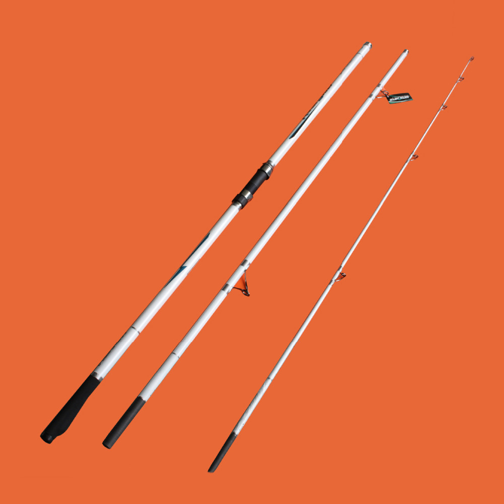 2017 new best fishing rod surf 3 section big game for Favorite fishing rods