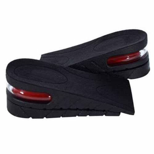 2-Layer 5CM Adjustable Ergonomic Design Air Cushion Invisible Lift Pads soles Height Increase Insole for  men women shoes
