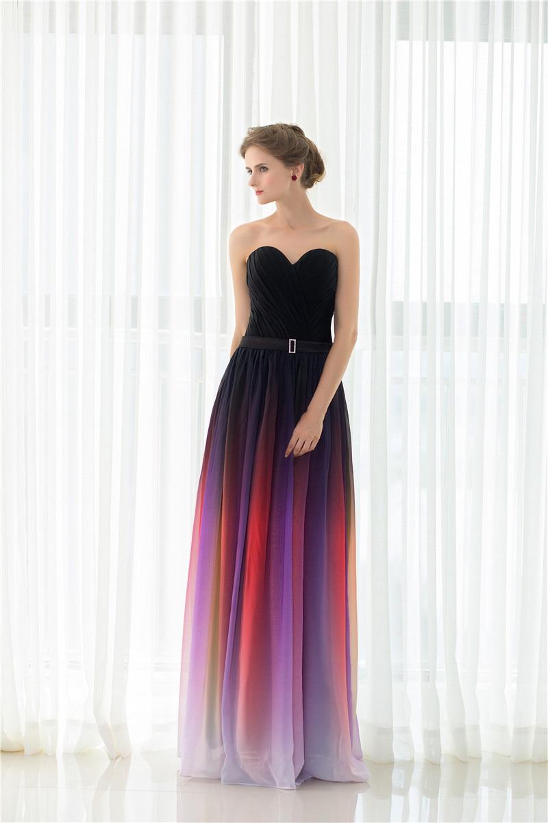 Ungewöhnlich Brautjunferkleider Gleiche Farbe Verschiedene Stile ...