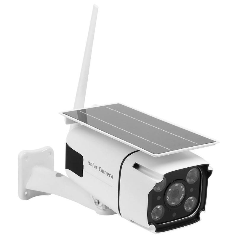 Caméra de sécurité sans fil WiFi 1080 P double Source de lumière IP caméra de vidéosurveillance solaire