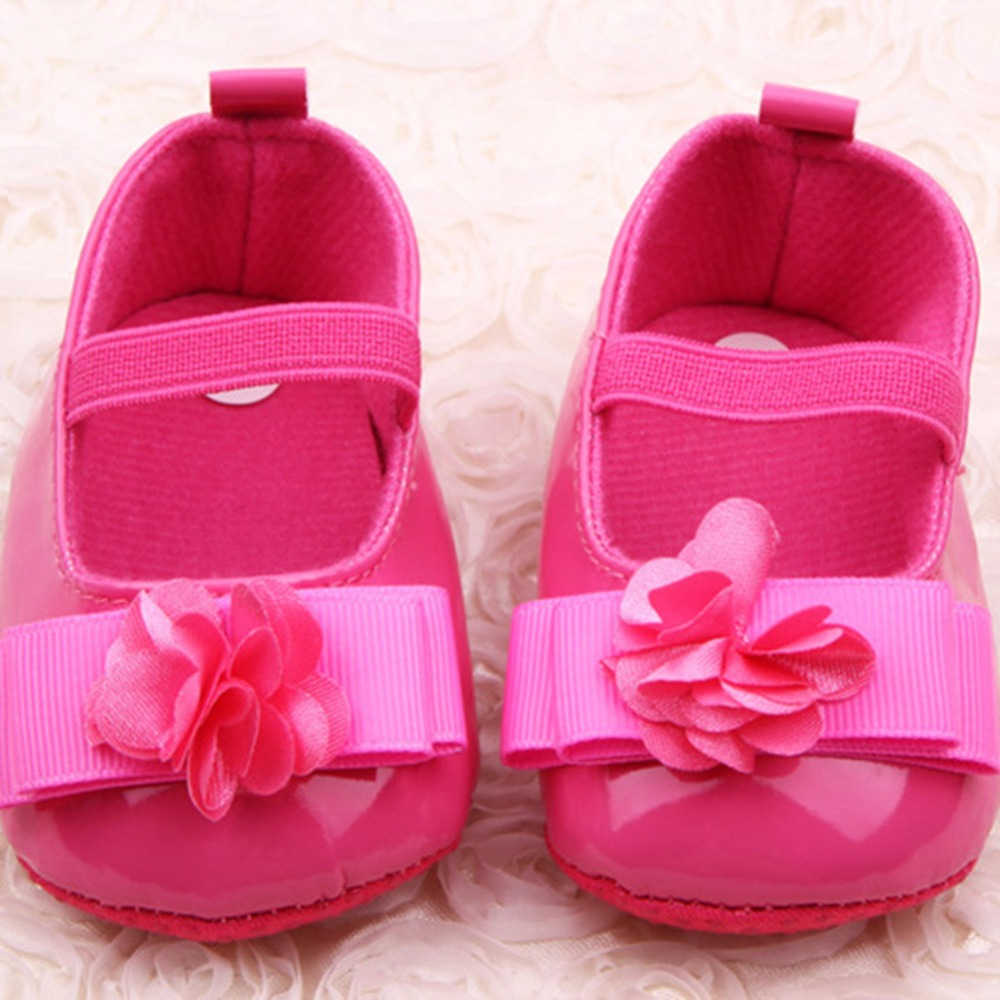 Newborn Baby Shoes Prewalker First Walkers Lovely baby Sneakers Infant Kids Girls Princess Shoes