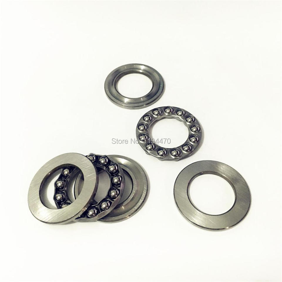 51203 17mm x 35mm x 12mm 17x35x12 mm 10 PCS Axial Ball Thrust Bearing