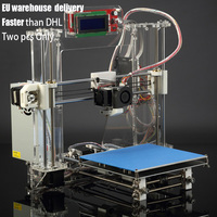 JGAURORA Z 605S High Accuracy DIY Desktop 3D Printer Kit Reprap Prusa I3 3D Printer With LCD Screen Support PLA ABS Filament