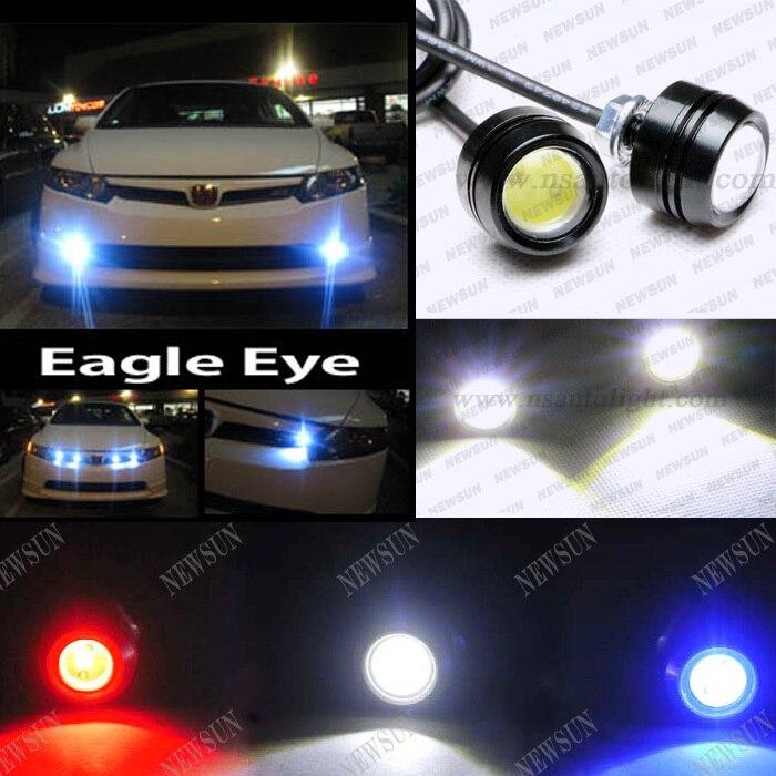 LED Eagle Eye DRL Light Blue Newsun High Power 3w Led Eagle Eyes Fog Light Daytime Running DRL Tail Backup Light