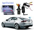Car Rear view Backup waterproof Camera Realtime Video + WiFi Transmitter for Car for IPhone, IPad, Android system