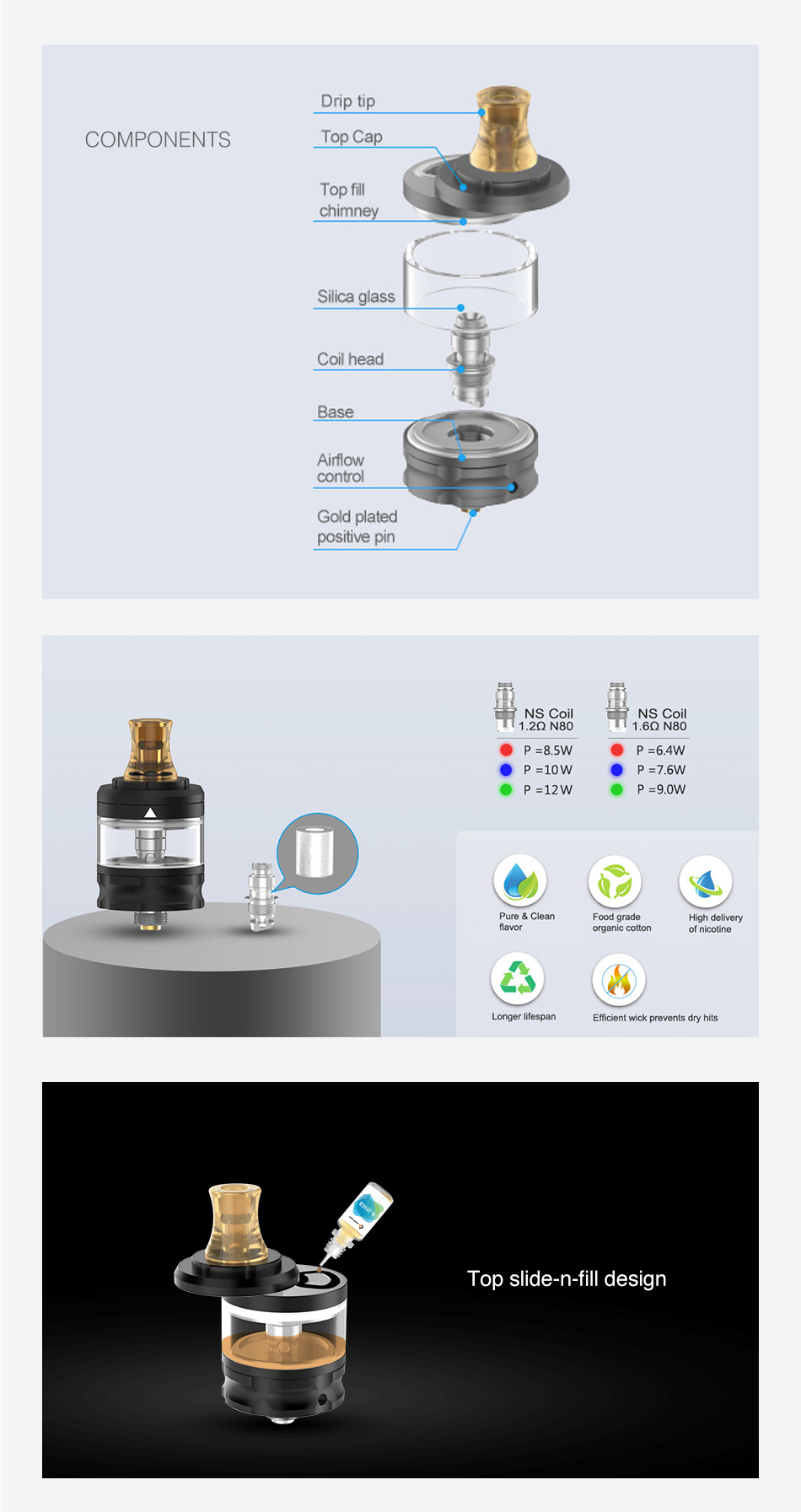 Geekvape Flint MTL Tank 2ml